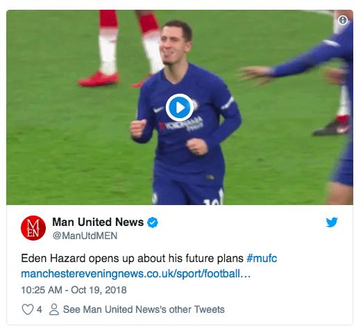 eden hazard manchester united