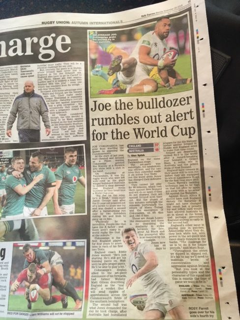 daily express football