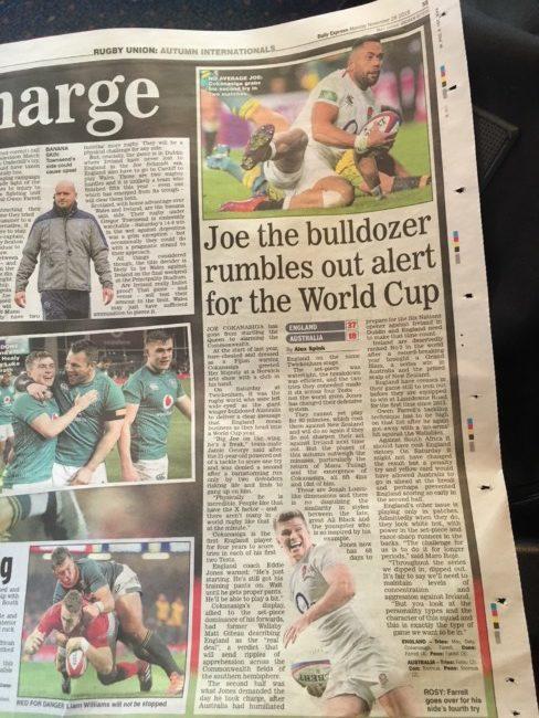 daily express football