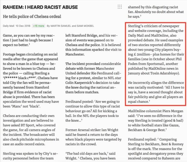 raheem sterling racism