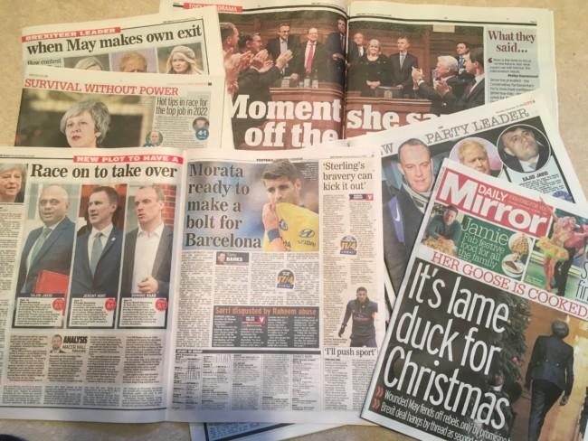 tabloids brexit