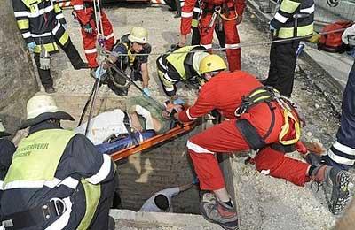 Builder Gets Shovel Stuck Up His Anus