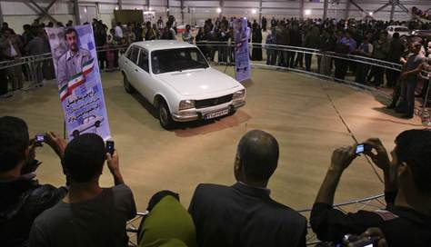 ahmadinejad car Ahmadinejads 1977 Peugeot Sells For $2.5m: Money Will Build Jails