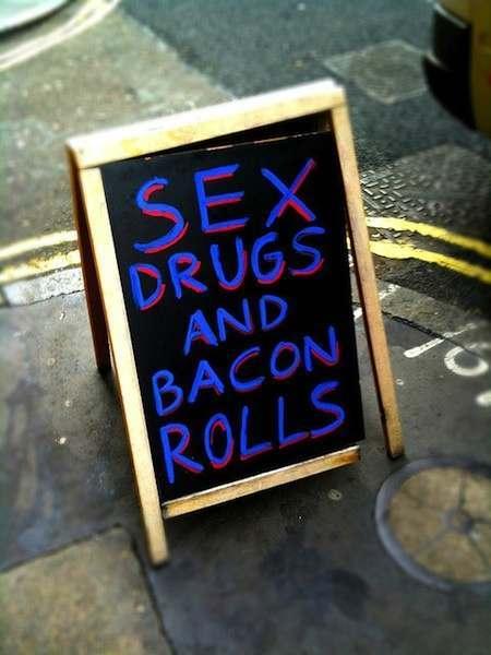 bacon rolls Sarah Brown And Gordons Breakfast Rolls Rip Off