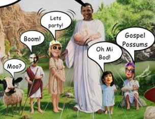barack obama is god 1 The God Cult Of Obama