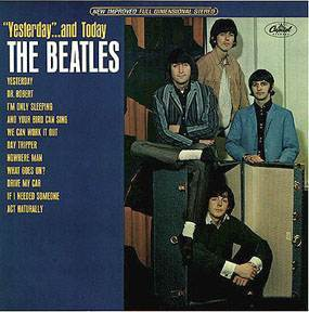 beatlesyesterday2 The Beatles Butchered: How The Beatles Were Carved Up