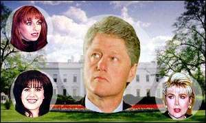 bill clinton flowers Gennifer Flowers Is Karming For Clinton 