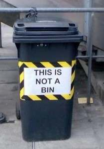 bin not a 209x300 Cricketer Carpets Chichester Over Its Bin Policy
