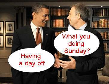 blair obama Barack Obama: Obama The Muslim Brother, Hiding From Gordon Brown And The Death Cult