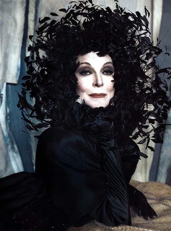 Carmen Dell'Orefice for Vanity Fair Italia – Stylebrity
