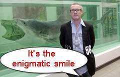 damien hirst shark Sharking For News: Damien Hirst, Pet Sharks And Stealing Sharks To Order