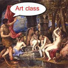 diana and actaeon Rich Man Gives Country Days To Save His Titian Art Collection