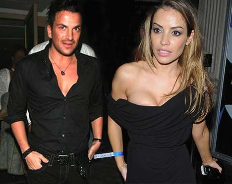 is peter andre dating elen