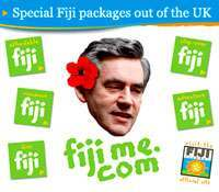 fiji gordon brown1 Departmental Visits Abroad
