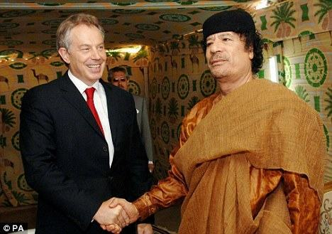 gaddafi libya Tony Blairs Role In Colonel Gaddafis Downfall, By Cherie Blair