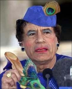 gaddafi1 243x300 Gaddafis Killer Abdelbaset Ali Mohmed al Megrahi Heads Back To Safety Of Scottish Jail