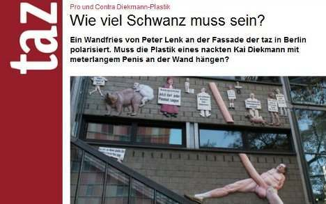 germans German Newspaper In War Over Dieksmanns Penis