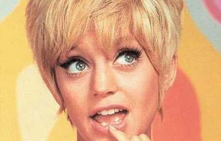 Goldie Hawn var gal etter sex, ei sklie eller et stort ludder mener noen! thumbnail