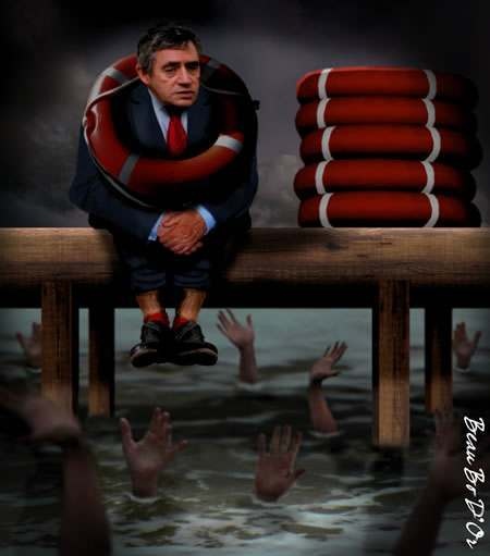 gordon brown4 Gordon Brown: We Not Only Saved The World