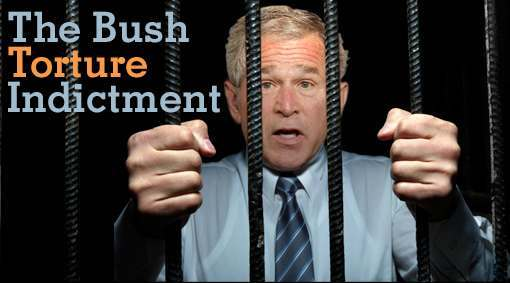 homepage bush torture indictment President Bushs Plea Bargain Leads To Blair And Ahmadinejads Arrest