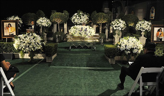 Jackson Michael Funeral