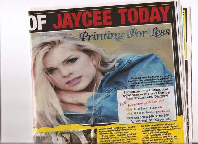 jaycee dugard children. JAYCEE Dugard: the media#39;s