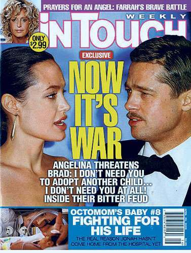the brad pitt jennifer aniston angelina jolie saga in pictures