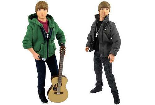 THE Justin Bieber love doll can play 30-second clips of his songs and fit