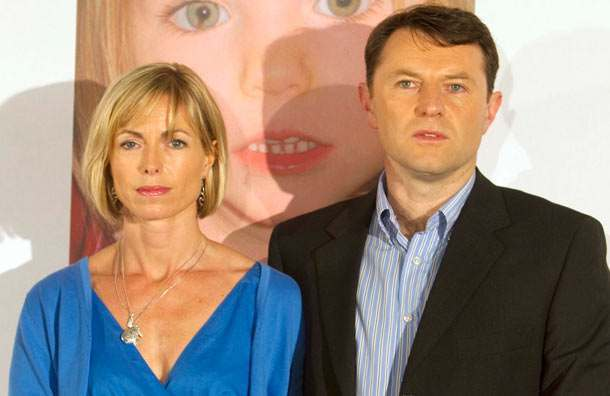 kate and gerry mccann Madeleine McCann: Kate And Gerry Seduce Vain David Cameron To The Suns Self Serving Campaign