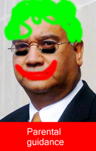 keithvaz joker batman 191x300 Keith Vaz Is Batmans Biggest Joker