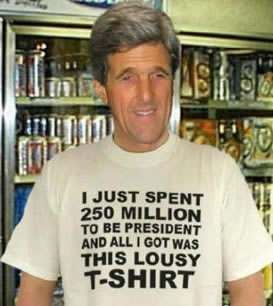 kerry tshirt John Kerry Is Al Gore Recycled