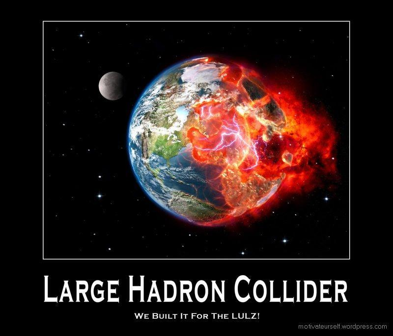 THE LARGE HADRON Collier is going