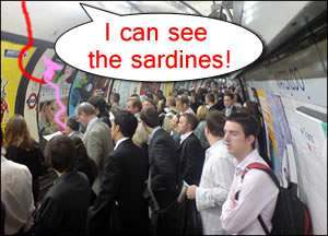 london-tube-busy