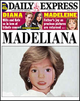 maddy5 Madeleine McCann: Snatched, Lowe Humour And More Flick Cox