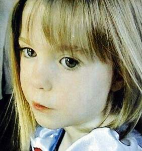 madeleine mccann case 282x300 Madeleine McCann: The Bill, Durham Police And Gary Glitter Is Paedos Our Maddie