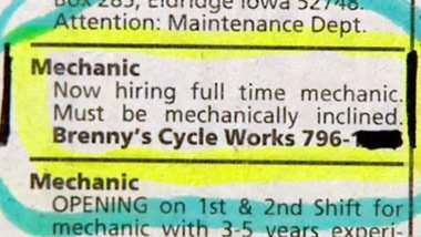 mechanic-wanted