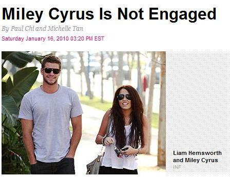 miley-not-engaged