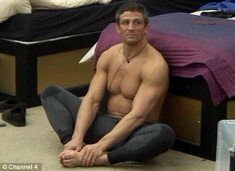 naked Alex reid