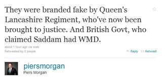 morgan fake Was Piers Morgan Right About British Soldiers Abusing Iraqi Prisoners?