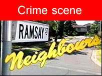 neighbours Violence Erupts On Neighbours Set
