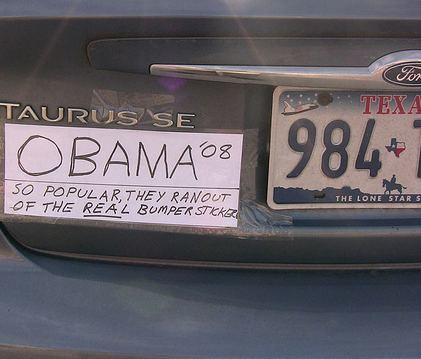 obama bumper sticker Barack Obama Is A Metrosexual Socialist