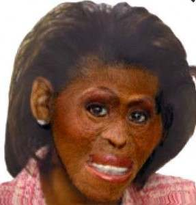 obama google monkey Michelle Obama Is A Monkey And Other Offensive Google Images
