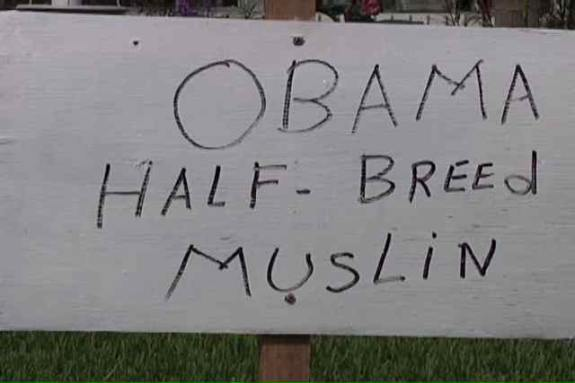 obama half breed muslin Barack Obama Is A Half Breed Muslin
