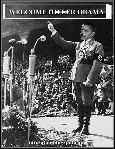 Image result for ObamaHitler