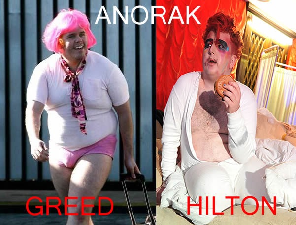 perez hilton greed Did Perez Hilton Make Sinful Appearance At Kerrang Awards? Pictures