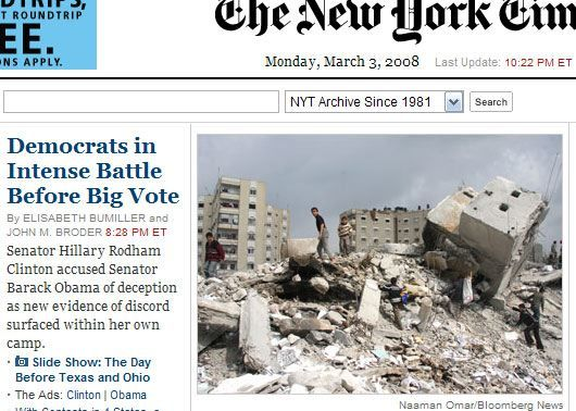 photojournalism Democrat Party Battle Costs Lives In New York Times