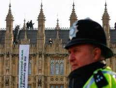 plane stupid westminster Plane Stupid Smoking On Parliament