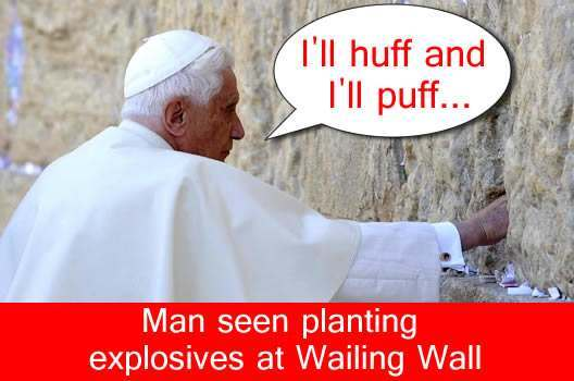 pope-wailing-wall