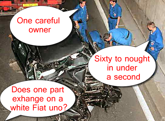 princess diana car crash photos. Princess Diana: Death Car For