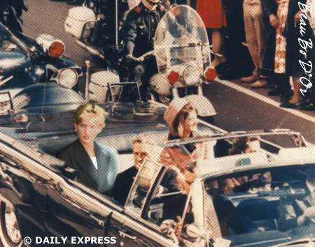 princess diana crash scene. BARACK is Princess Diana.